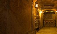 Подземелья и катакомбы Рима