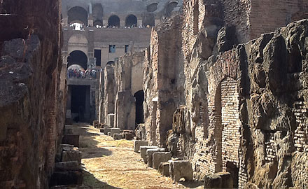 Экскурсия по Колизею