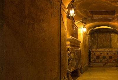 Экскурсия по подземельям Рима