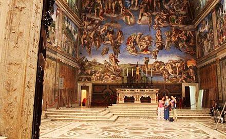 Экскурсии по Ватикану  - вечернее посещение Сикстинской капеллы с  IWU