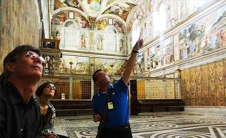 Экскурсии по Ватикану  с IWU - официальные экскурсии по Ватикану